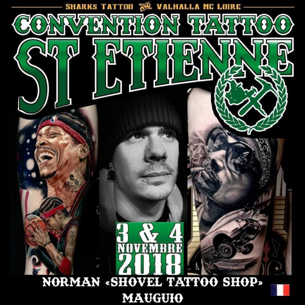 Tattoo Convention St Etienne 2018